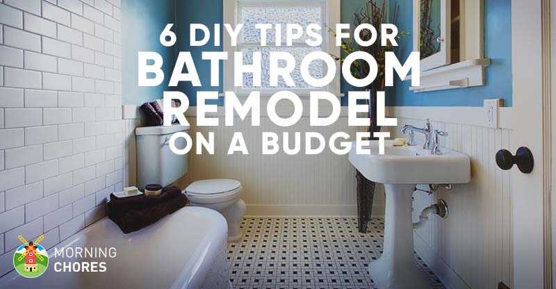 9 Tips For Diy Bathroom Remodel On A Budget And 6 D 233 Cor