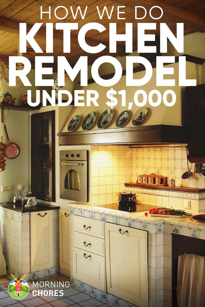 DIY Kitchen Remodel Ideas: How We Do It for under $1,000