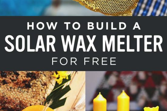 How to Build a DIY Solar Wax Melter