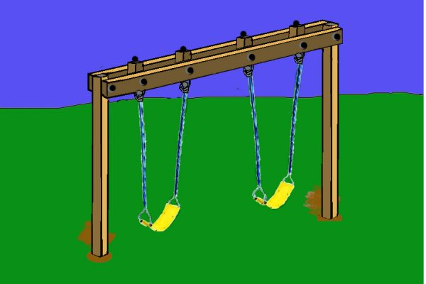 34 Free Diy Swing Set Plans For Your Kids Fun Backyard Play