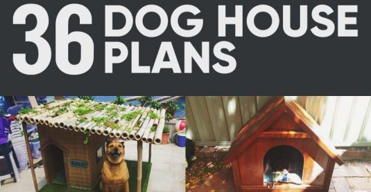 36 Free DIY Dog House Plans and Ideas