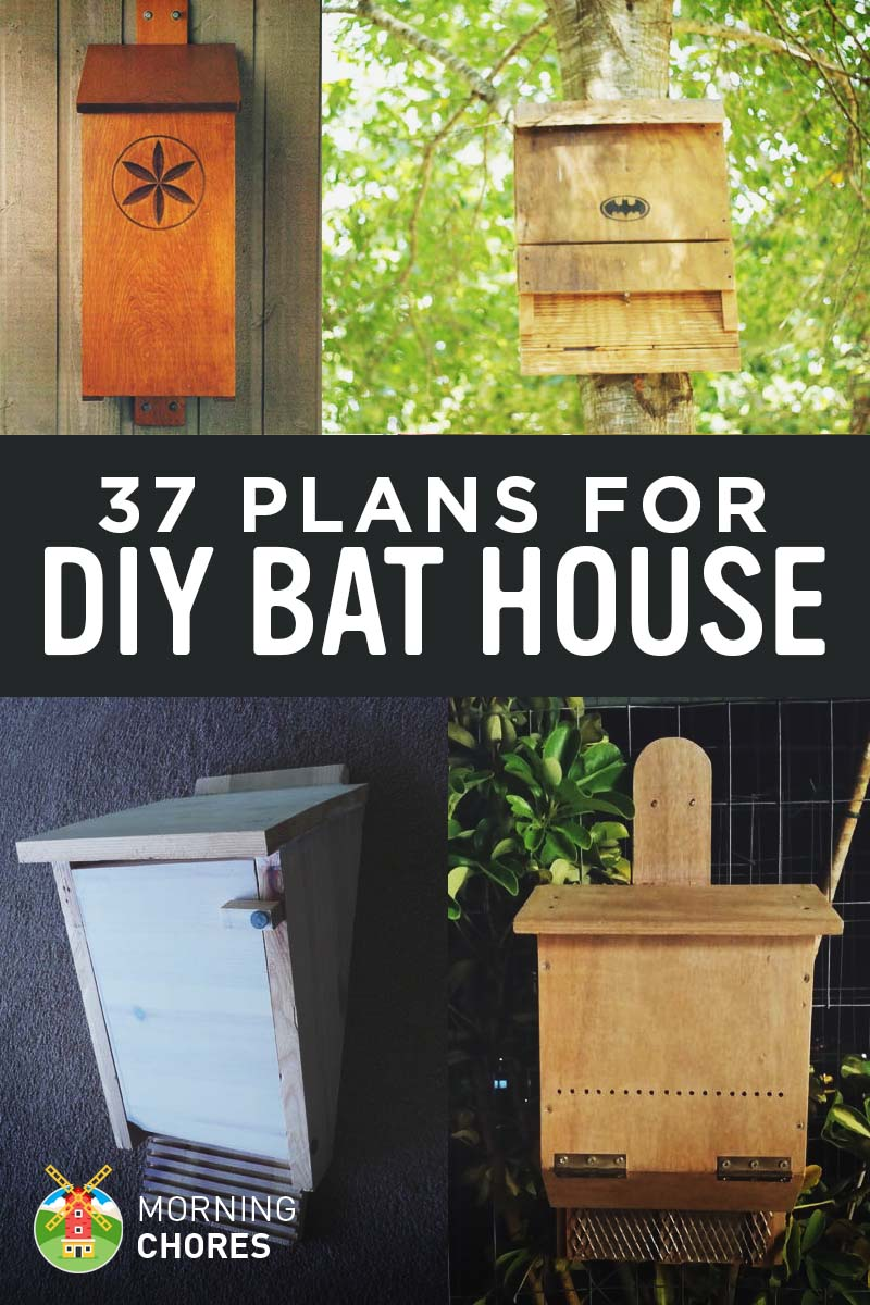 37 free diy bat house plans that will attract the natural for Diy house plans
