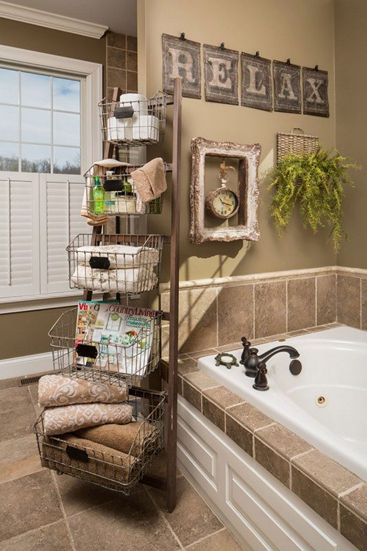 bathroom-ideas-recycle-baskets bathroom storage ideas