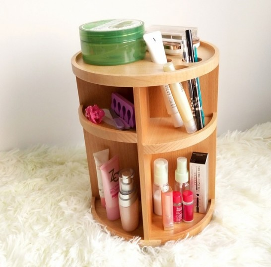 bathroom-ideas-rotating-table-organizer