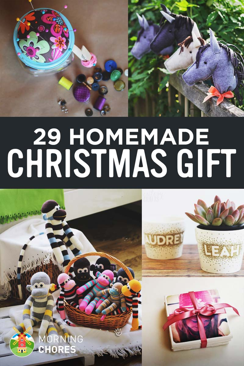46 Joyful DIY Homemade Christmas Gift Ideas for Kids & Adults