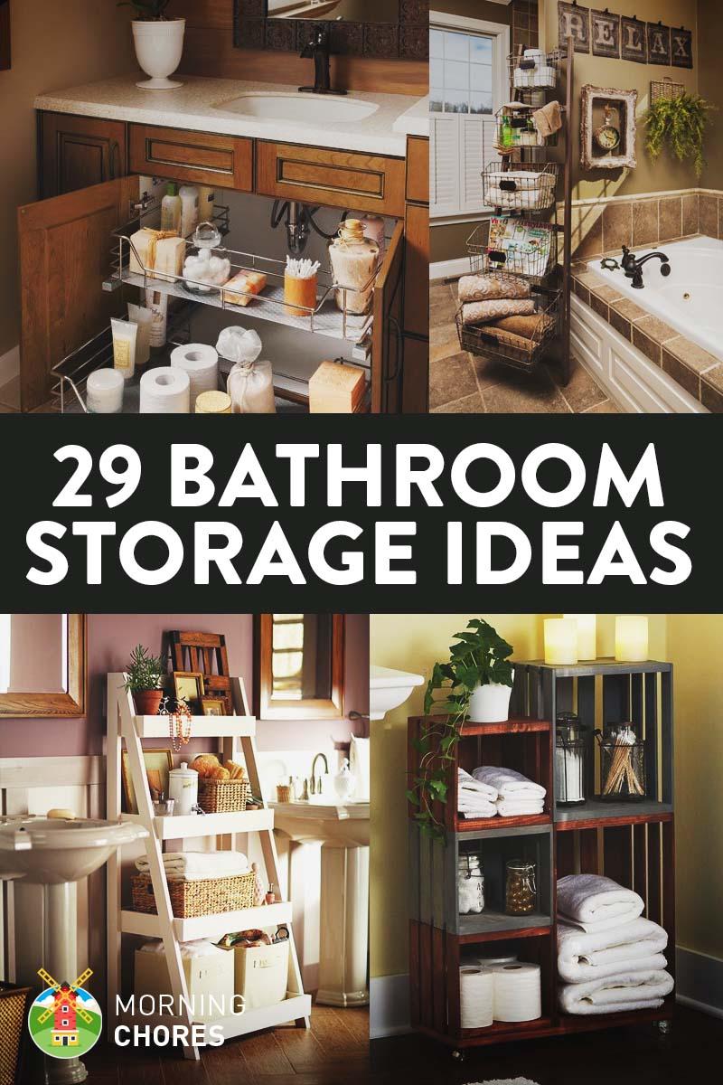 29 Space Saving Bathroom Storage Ideas