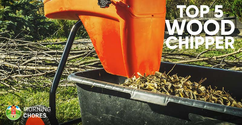 5 Best Wood Chipper And Shredder For Home Use Reviews