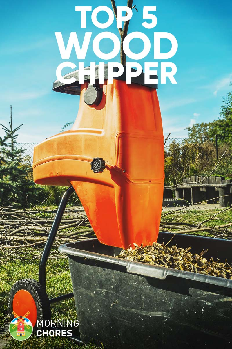 5 Best Wood Chipper and Shredder for Home Use – Reviews