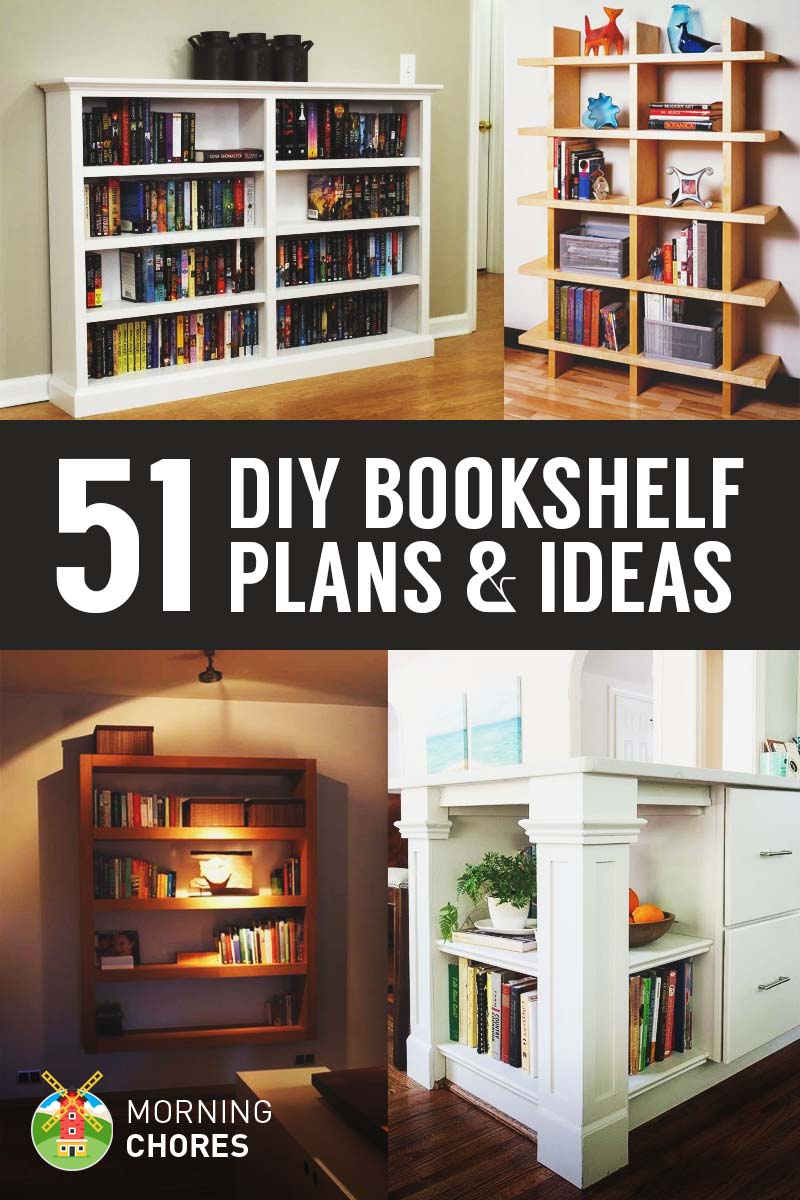 Awesome Bookcase Ideas Part - 13: MorningChores