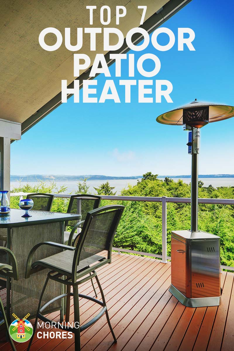 A patio heater is ideal for those cool spring nights when you are  entertaining guests out on your pool deck. You can also enjoy its heat and  relaxing ... - 7 Best Outdoor Patio Heater: 2017 Reviews & Buying Guide