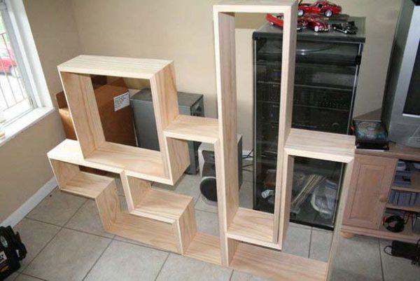 The Tetris Book Shelf