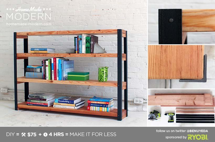 Ironbound Bookcase
