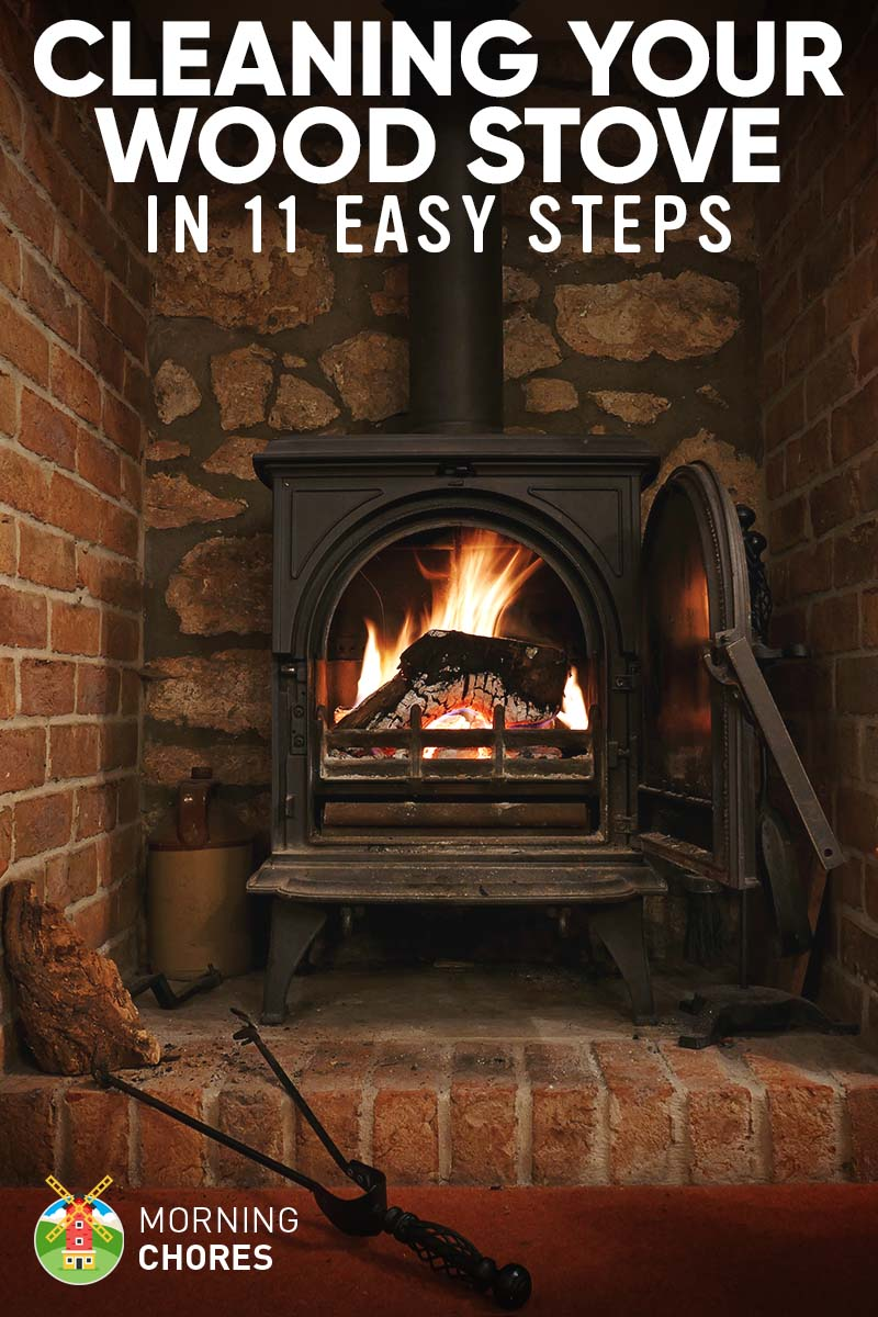 how to clean your wood stove and the chimney properly in 11 steps