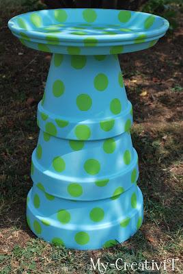 MorningChores & 30 Adorable DIY Bird Bath Ideas That Are Easy and Fun to Build