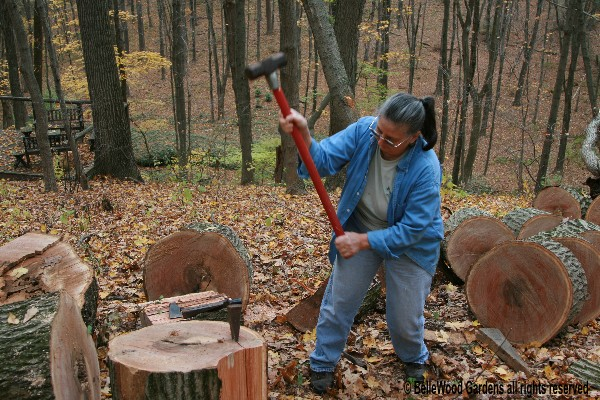 how to chop your own wood