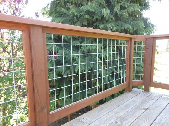 32 DIY Deck Railing Ideas & Designs That Are Sure to ...