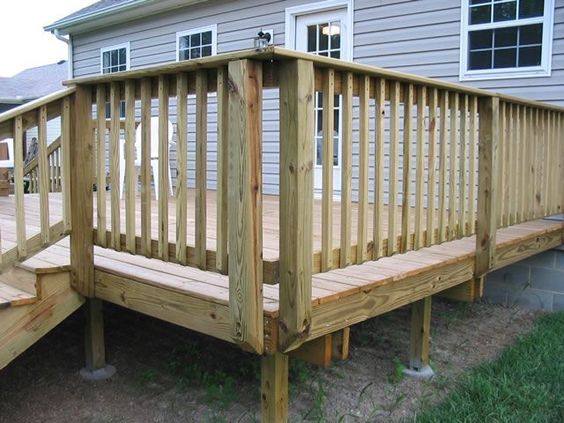 So You Are Building A New Deck Want It To Look Traditional With Only Slightly Diffe From The Usual