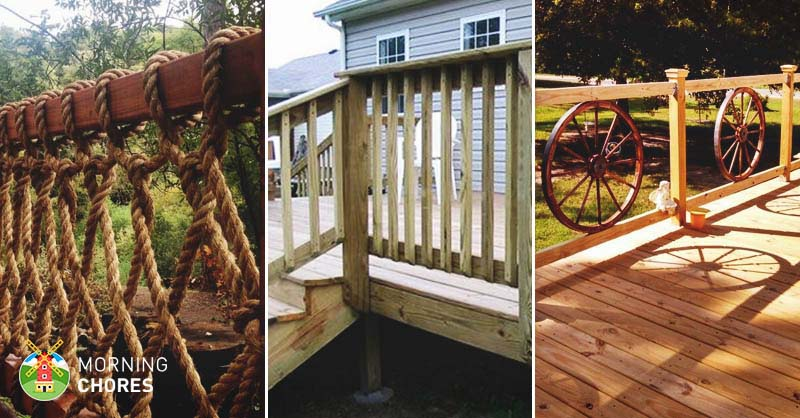 32 diy deck railing ideas designs that are sure to inspire you - Deck Railing Design Ideas
