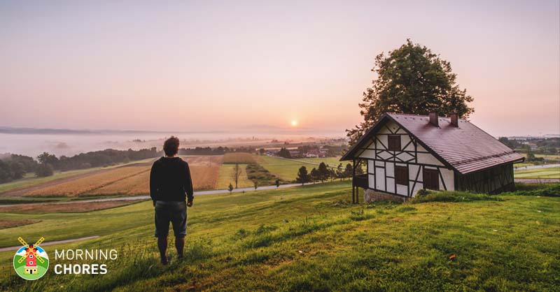 what self sufficient living is about and 8 tips on how to achieve it