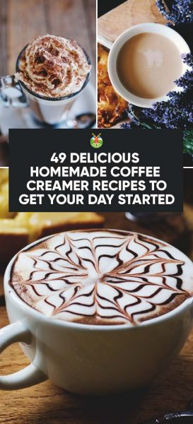 Homemade Coffee Creamer Recipes: