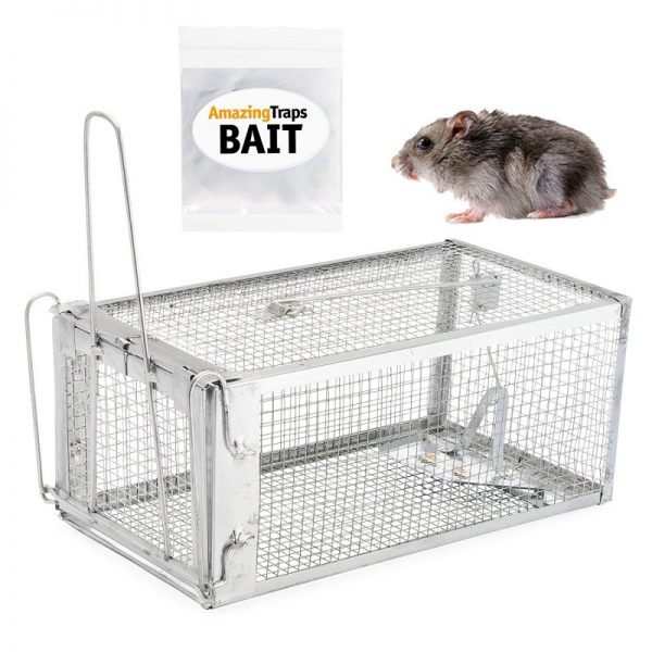 Amazing Rat Trap Includes Starter Bait