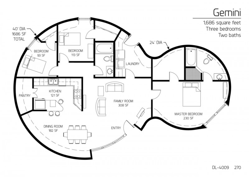 18 Beautiful Earthbag House Plans for A Budget-Friendly ... on books house interior design, bamboo house interior design, wood house interior design, adobe house interior design,