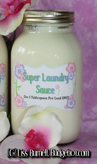 So you like the idea of making your own laundry detergent, but you aren't sure you'll have the time or the talent to pull it off.
