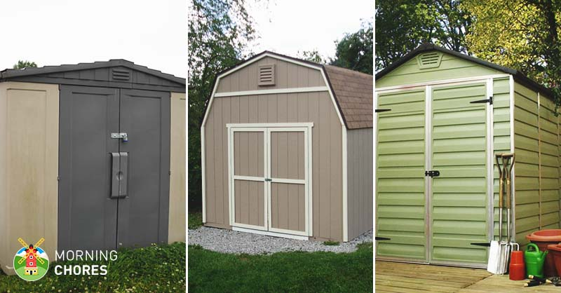 5 best storage shed reviews easy to assemble outdoor for Best garden sheds