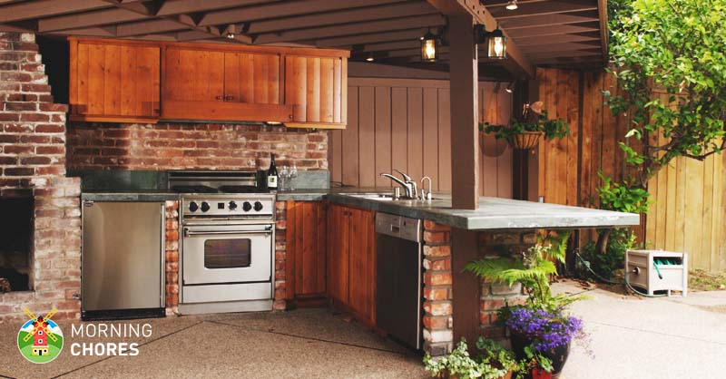 6 reasons why you absolutely must have an outdoor kitchen for Must have kitchen ideas