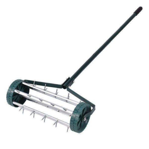 Goplus Heavy Duty Rolling Garden Spike Lawn Aerator