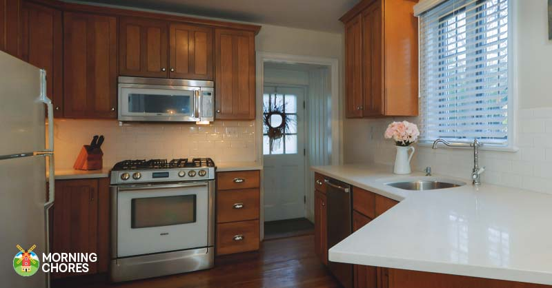 How to refinish your cabinets with minimal cost in 6 easy for Building your own kitchen cabinets cost