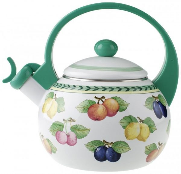 Villeroy & Boch French Garden Kitchen 2-Liter Stainless Steel Tea Kettle