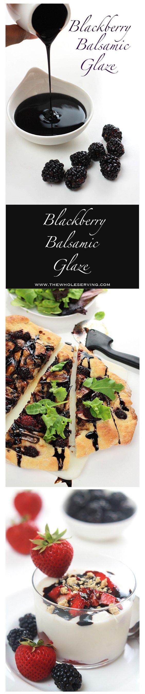 blackberry recipes for balsamic glaze
