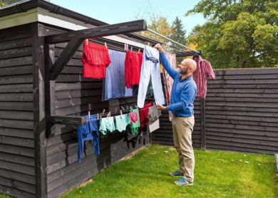 efficient clothesline ideas