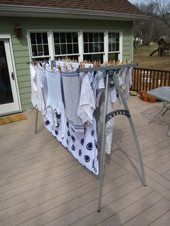 26 Clothesline Ideas To Hang Dry Your Clothes And Save You