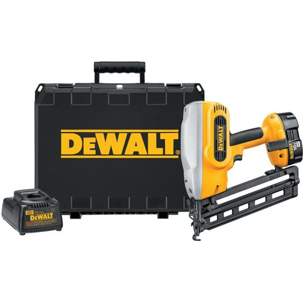 DEWALT Angled Finish Nailer Kit