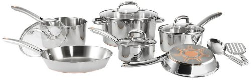 T-fal C836SC Ultimate Stainless Steel 12-piece Cookware Set