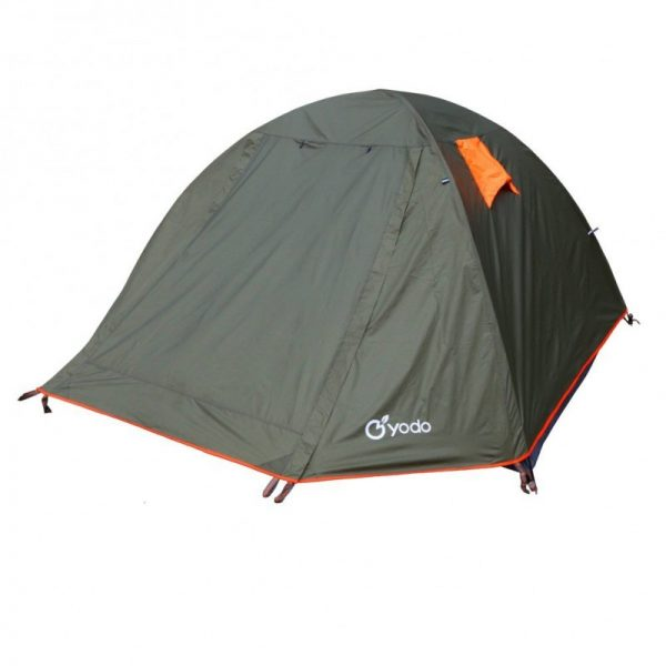 Yodo Upgraded 3-Season 2,4 Person Waterproof Backpacking Tent