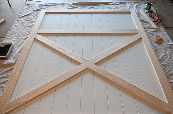53 Creative and Gorgeous DIY Barn Door Plans and Ideas