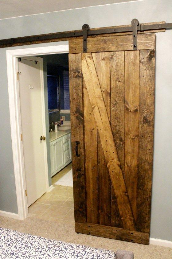 A Rustic Barn Door