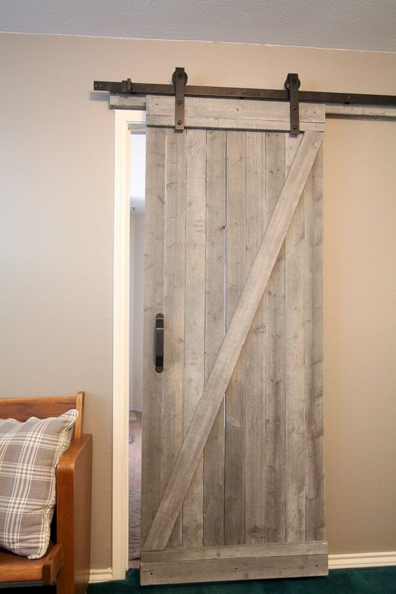 This Is A Traditional Style Diy Barn Door If You Are Looking For Way To Create Magnificent Look In Your Own Home Then Ll Want Check Out