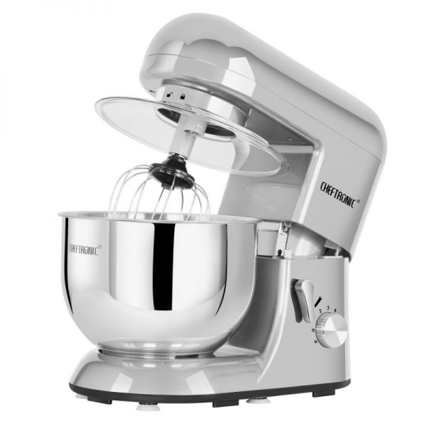 With An Extra Large 5.5 Quart Mixing Bowl, An Extra Powerful Motor And A  Large Capacity To Prepare A Lot Of Dough, The Cheftronic Electric Mixer  Machine ...