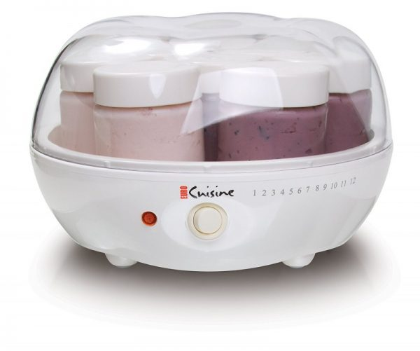 Euro Cuisine YM80 Electric Yogurt Maker