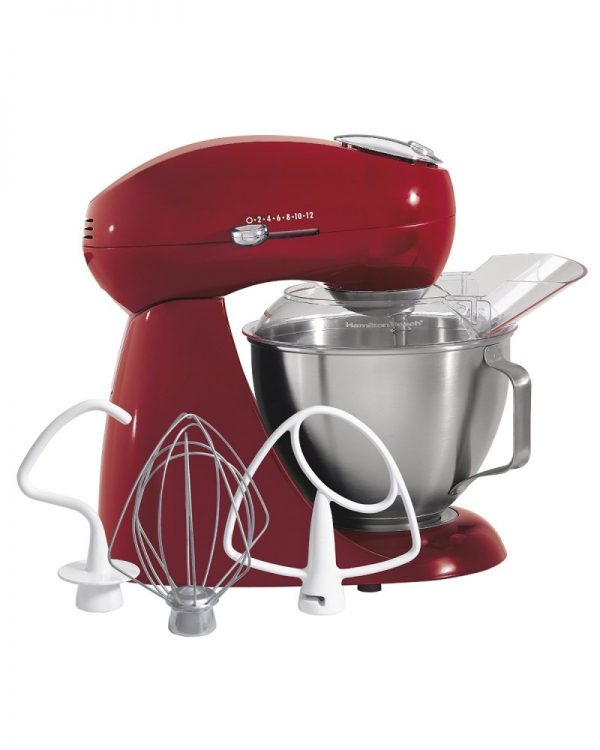 Hamilton Beach Eclectrics Red Stand Mixer