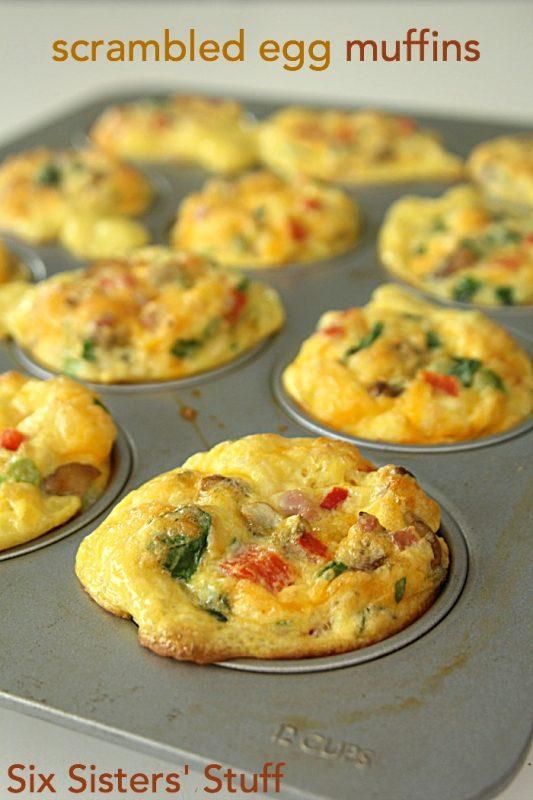 Scrambled-Egg-Breakfast-Muffins