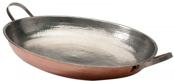 Sertodo Alicante 15-inch Copper Paella Pan