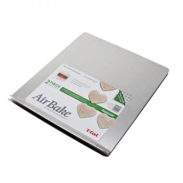 T-FalAirBake Natural 2 Pack Cookie Sheet Set