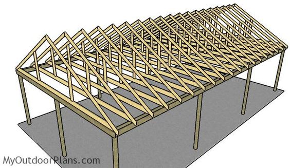 20 Stylish DIY Carport Plans That Will Protect Your Car from
