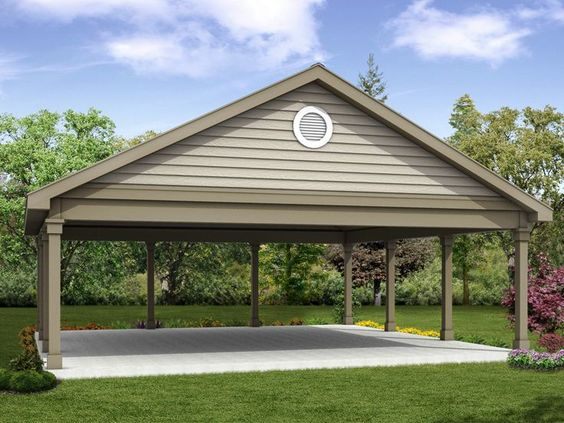 20 Stylish DIY Carport Plans That Will Protect Your Car from the