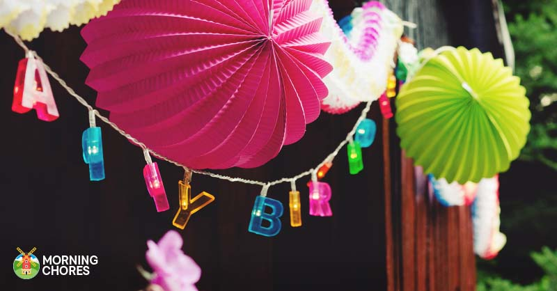 8 Easy To Follow Tips For Throwing Birthday Parties On A Budget